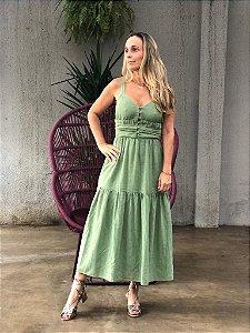 Vestido Fernanda Verde