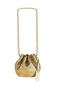 Bolsa Saquinho Tresset Ouro