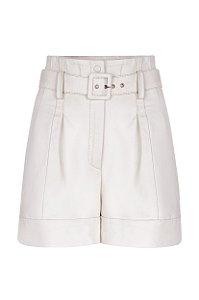 Shorts com Cinto Off- White