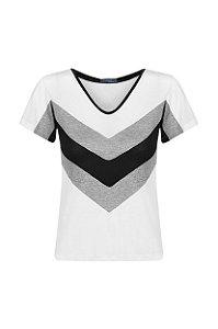 Camiseta 3 cores Off White