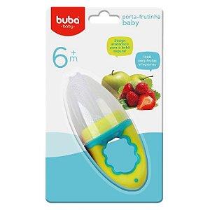 Alimentador Para Bebês Com Redinha Porta Frutinha Baby Verde