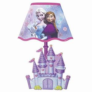 Adesivo de Parede Abajur Com Lampadas LED Disney Frozen