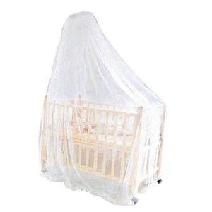 Mosquiteiro De Teto Para Berço Tela De Proteção 220 X 600 Cm