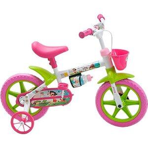 Bicicleta Infantil Com Rodinhas Dream Feminina Aro 12 Brink+