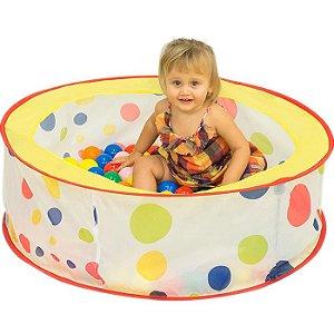 Piscina Bolinhas Coloridas Color Dots Com 50 Bolinhas Brink+