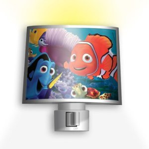 Mini Abajur Iluminador Noturno Disney Pixar Procurando Nemo 110v