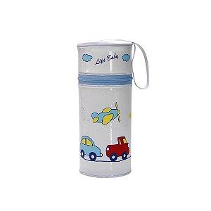 Porta Mamadeira Protetor Térmico Isopor Até 360 ml Carrinho