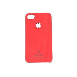 Capa Para iPhone 4 / 4S Em Acrílico Vermelha