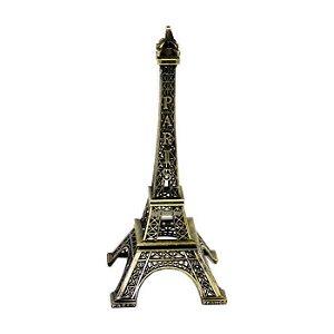 Torre Eiffel Em Metal Com 18cm Altura