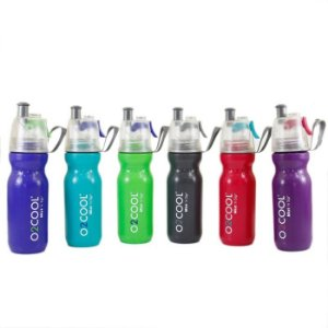 Garrafa Squeeze Com Borrifador Total Hidro O2Cool