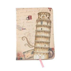 Caderno Capa Dura Brochura Pequeno 110 Folhas 10x14