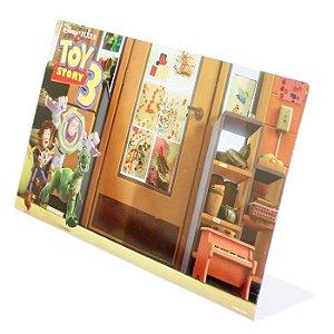 Porta Retrato Infantil Com Imã Disney Pixar Toy Story 3