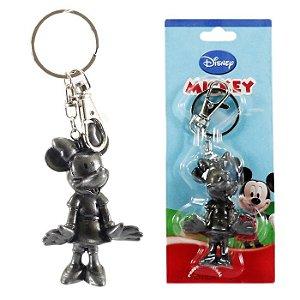 Chaveiro Disney Minnie Mouse Cinza Em Plástico h2 Turma do Mickey Mouse