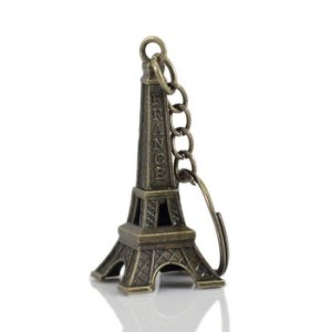 Chaveiro Torre Eiffel Paris Vintage Em Metal