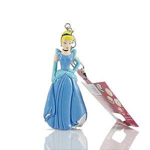 Chaveiro Disney Princesa Cinderella Em Plástico