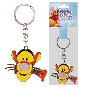 Chaveiro Disney Tigrão Turma Winnie The Pooh Em Metal