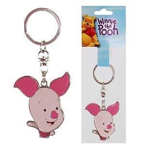Chaveiro Disney Leitão Turma Winnie The Pooh Em Metal