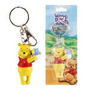 Chaveiro Disney Ursinho Pooh Pote De Mel Turma Winnie The Pooh Em Plástico