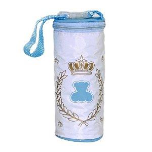 Porta Mamadeira Térmico Unitário Lipi Baby Azul Menino