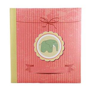 Álbum De Fotos Infantil Para 500 Fotos 10x15 cm - Elefante Verde