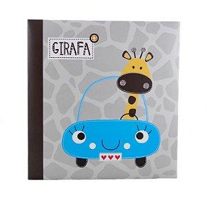 Álbum De Fotos Infantil Para 500 Fotos 10x15 cm - Girafa no Carro