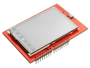 Shield Display LCD - 2.4'' Touch Screen TFT