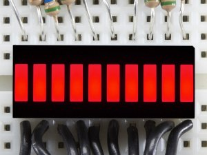 Display Bargraph - Vermelho
