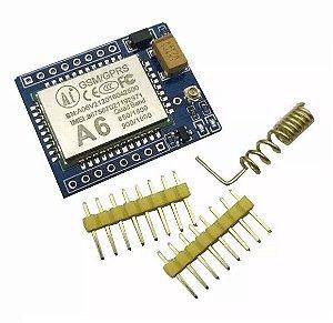 Módulo GSM/GPRS A6 Mini