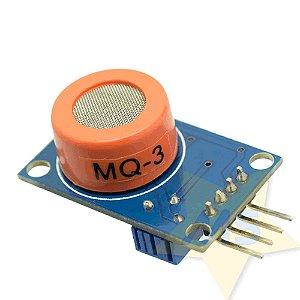 Sensor de Gás / Álcool - MQ-3