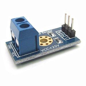 Sensor de Tensão DC 0-25V