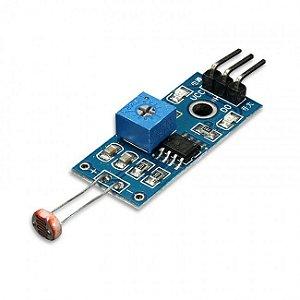 Módulo Sensor de Luminosidade Fotossensitivo LDR