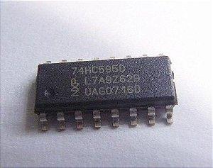 CI 74HC595 SMD - Registrador de deslocamento