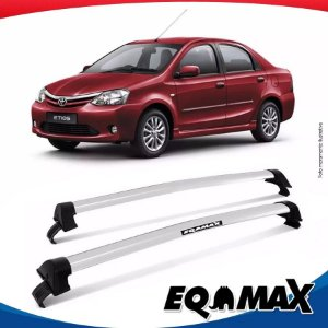 Rack Eqmax Toyota Etios Sedan New Wave 14/15 Prata