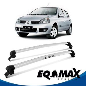 Rack Eqmax Clio Hatch 4P New Wave 00/16 prata