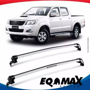 Rack Eqmax Toyota Hilux 4P New Wave 13/15 Prata
