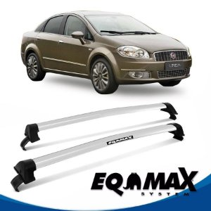 Rack Eqmax Fiat Linea 4P New Wave 09/13 prata
