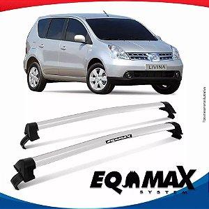 Rack Eqmax Nissan Livina sem longarina New Wave 10/14  Prata