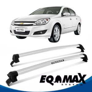 Rack Eqmax New Wave Teto Chevrolet Vectra 06/11 prata
