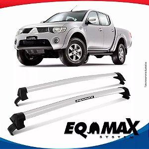 Rack Eqmax Mitsubishi L200 Triton New Wave 2015 Prata
