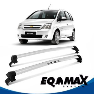 Rack Teto Chevrolet Meriva  New Wave 03/12 prata