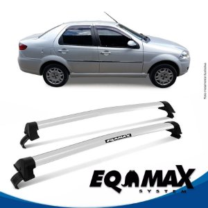 Rack Eqmax Fiat Siena EL New Wave 08/14 prata
