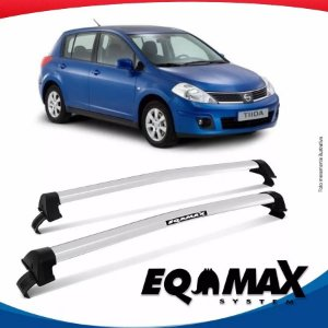 Rack Eqmax Nissan Tiida New Wave 07/13 Prata