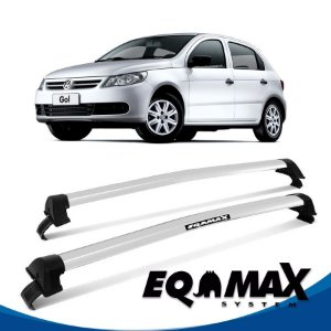 Rack Eqmax VW Gol New Wave 08/13 prata