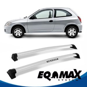 Rack Eqmax Chevrolet Celta 2 Pts Wave 00/11 prata