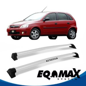 Rack Eqmax Chevrolet Corsa Maxx Hatch 4 Pts Wave 02/12 prata