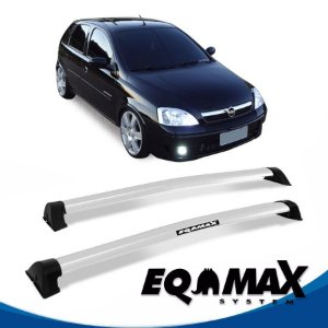 Rack Eqmax Chevrolet Corsa Premium Hatch 4 Pts Wave 02/12 prata
