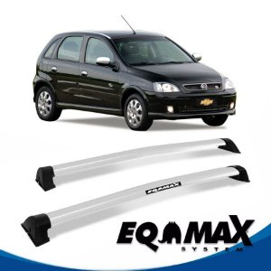 Rack Eqmax Chevrolet Corsa SS Hatch 4 Pts Wave 02/12 prata