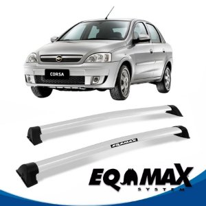 Rack Eqmax Chevrolet Corsa Premium Sedan 4 Pts Wave 02/12 prata