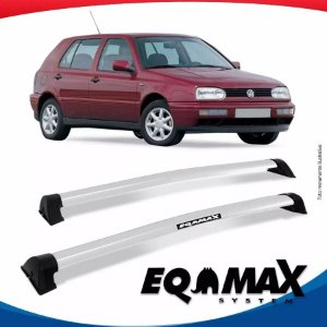 Rack Wave Teto Eqmax VW Golf G3 4 Portas 94/98 Prata