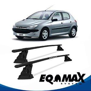 Rack Aço Teto Eqmax Peugeot 206 4 Pts 99/10 Hatch